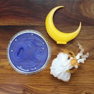 Image 5 - חדש 13cm אנימה סופר סיילור מון בובות Tsukino Usagi PVC פעולה איור כנפי עוגת קישוט אוסף דגם צעצוע בובה מתנות