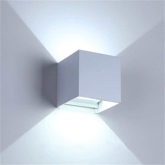 LED Wall Lamp IP65 Waterproof Indoor & Outdoor Aluminum Wall Light Surface Mounted Cube LED Garden Porch Light NR-155 2