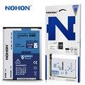 Nohon bateria original para samsung galaxy note 3 mini note3 lite n7506v n7505 alta capacidade 3100 mah pacote de varejo
