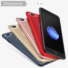 Ultra Slim Phone Case For iPhone X XS Max Xr 6 6s 7 8 Plus Hollow Heat Dissipation Cover Xs Back Coque