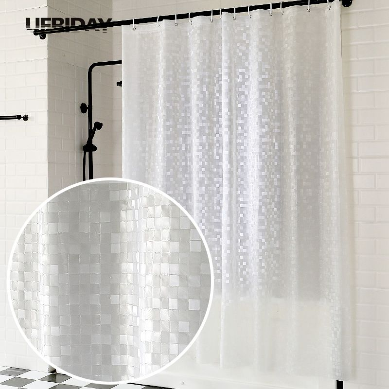 Bathroom Fixtures Superior Quality12pcs Shower Bath Bathroom Curtain Rings Clip Pinch Clasp Closure Design Easy Glide Hooks Chrome Plated Stylish Bathroom Hardware