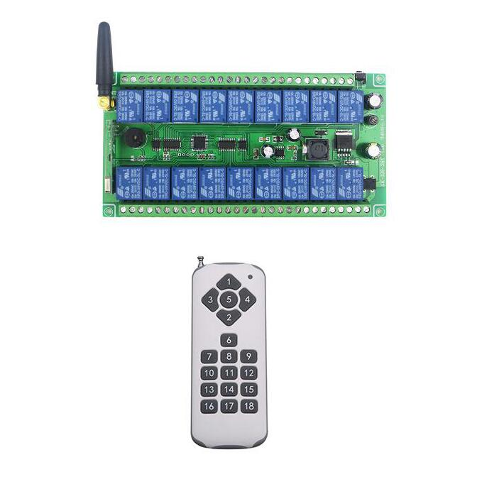 Universal mini 220V 1CH 10A Relay RF Wireless Remote Control Switch System For Light Lamp 315Mhz 433.92Mhz