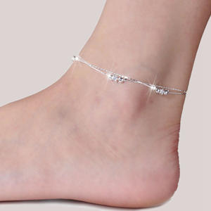 MISANANRYNE Fashion Women Anklet Bracelet on The Leg 2019 Fashion Summer Beach Foot Jewelry Tobilleras De Plata Para Mujer