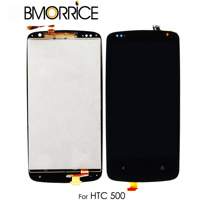 Original Für <font><b>HTC</b></font> <font><b>Desire</b></font> <font><b>500</b></font> LCD Display Touchscreen Digitizer Glas Panel Monitor Modul Montage Ersatz Kein Rahmen 4,3'' image