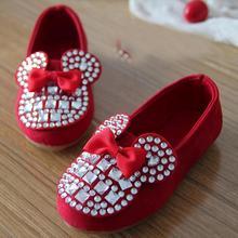Kids Shoes 2016 New Brand Children Shoes Princess Girls Fashion Sneakers Girls Single Shoes Cartoon Flat Shoes