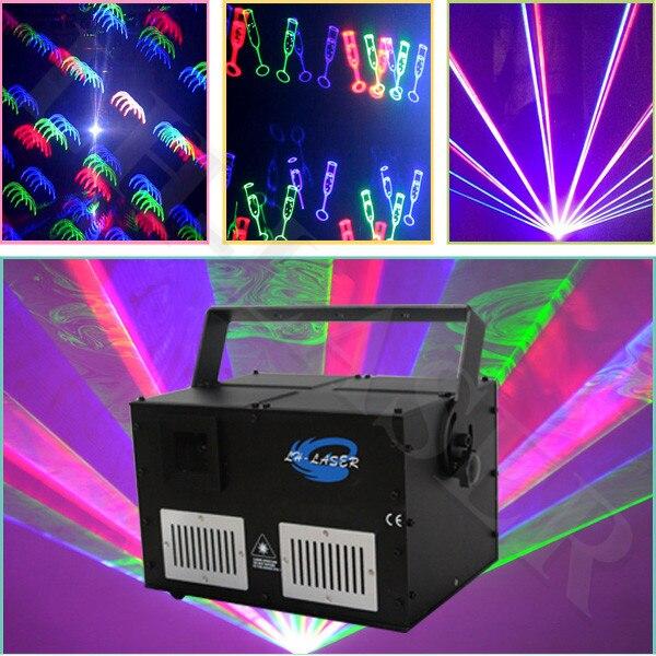 ILDA + Sd Display podium verlichting 4000 mw rgb dmx disco ...