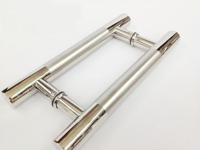 stainless steel pull push handle for wood glass entry front door exterior interior