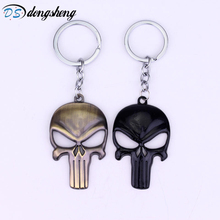 Hot Sale Keyring Horror Film Alien 2 colors Skeleton Charm Retro Pendant Keychain Antique Keyring Hot Sale Jewelry -50