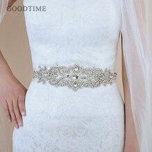 Thời trang Cưới Pha Lê Thắt Lưng Sash Cô Dâu Dây Thắt Lưng Thắt Lưng Cô Dâu Đai Với Thạch Wedding Phụ Kiện cho Phụ Nữ Ăn Mặc