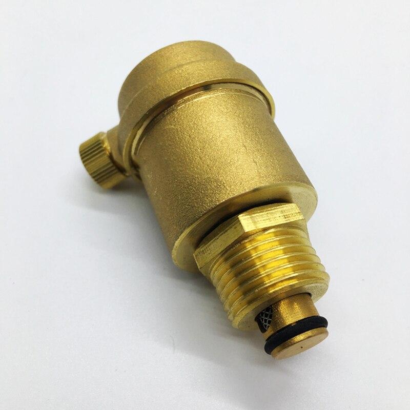 Sanitär Ventil 1 bsp Außengewinde Messing Automatische Luftdruck Vent Ventil Sicherheit Release Ventil Druck Relief Ventil Für Solar Wasser Heizung