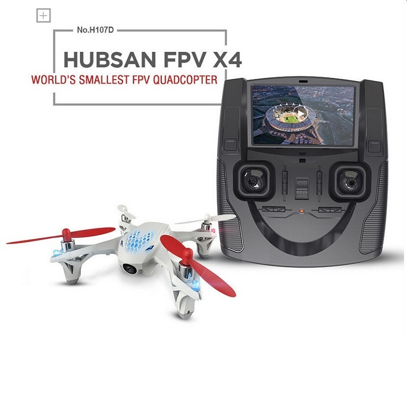 Hubsan X4 H107D FPV 4CH 6 Axis Quadcopter RTF w/ 5.8G FPV 6CH Transmitter and 0.3MP Camera Drone free shipping originalnew 9 inch lcd screen cable number fvi900c001 50a