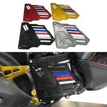 Мотоцикл с ЧПУ алюминиевая решетка радиатора Защитная крышка- для YAMAHA Aerox155 NMAX& NVX 155 150 125 аксессуары резервуар для воды