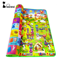 High Quality Child Play Mats Aluminum Eco Friendly Baby Crawling Pad Large Size 160 180 Cm