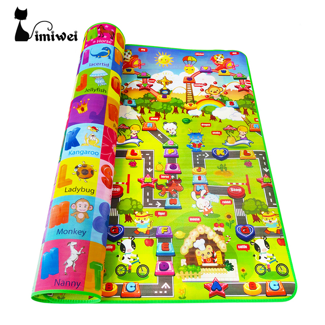 IMIWEI Baby Carpets Play Mat Mats Eva Foam Rugs Kids Toys For Newborns Puzzle Mat For Children Carpet Developing Rug Playground