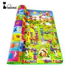 Imiwei детские ковры игровой коврик коврики EVA пены ковры, детские игрушки для новорожденных головоломки коврик для детей ковер разработки ковер площадка