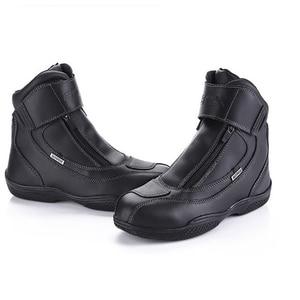 Image 2 - ARCX 防水リアル革クライミングハイキングシューズブーツオートバイ安全ギアレーシングブーツストリートツーリング乗馬靴