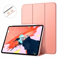 MoKo Case For iPad Pro 12.9 2018[Support Magnetically Attach Charge/Pair] Slim Lightweight Smart Shell Stand Cover with Magnetic