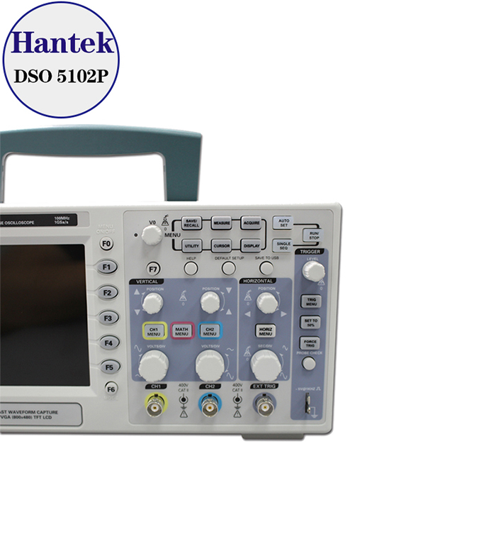 Hantek DSO5102P 2-CHannels Digital Oscilloscope 1GSa/s Real Time Sample Rate
