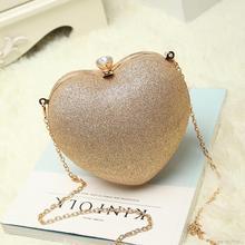 Mini Heart Evening Bag