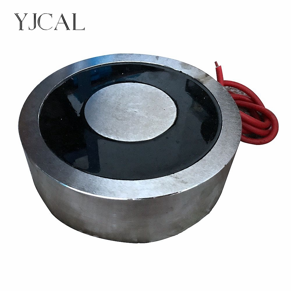 YJ 600/200 Holding Electric Sucker Electromagnet Magnet Dc 12V 24V Suction cup Cylindrical Lifting 14000KG Suction Plate China