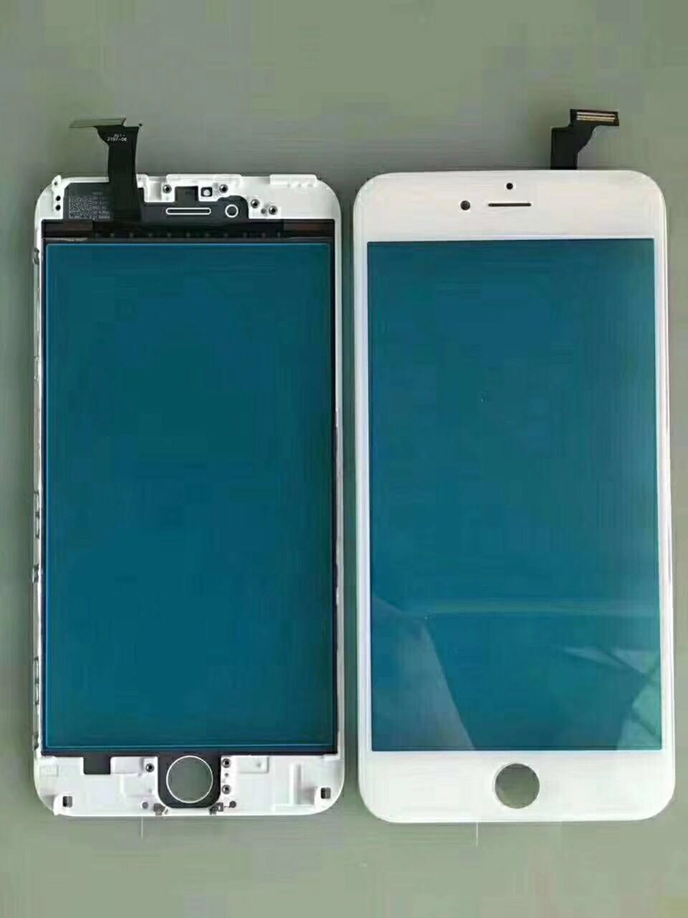 Image 3 - Replacement Front Glass Lens Touch Screen Digitizer with frame For iPhone 5 5s 5c 6 plus 6S Glass Panel Sensor-in Mobile Phone Touch Panel from Cellphones & Telecommunications