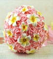 2016 New Bridesmaid Wedding Bride bouquet Satin Romantic Wedding bouquet Flower Brids