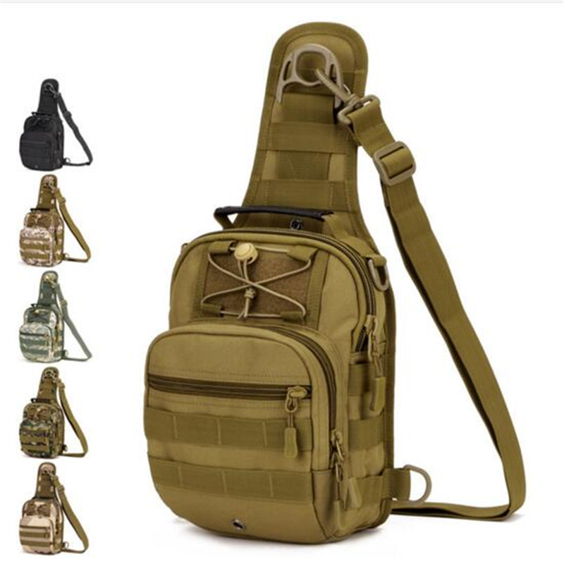 Men's bags tactics chest package ride one shoulder backpack with the high grade  bags fashionable leisure women back bag