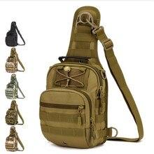 Männer taschen taktik brust paket fahrt eine schulter rucksack mit dem hochwertigen taschen modische freizeit frauen zurück tasche
