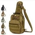 Sacos dos homens táticas passeio pacote peito um ombro mochila com o alto grau de sacos de moda saco de lazer feminino