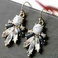 2014 New Hot Selling Fashion Jewelry Crystal Flower Chandelier Earrings Wedding Accessories