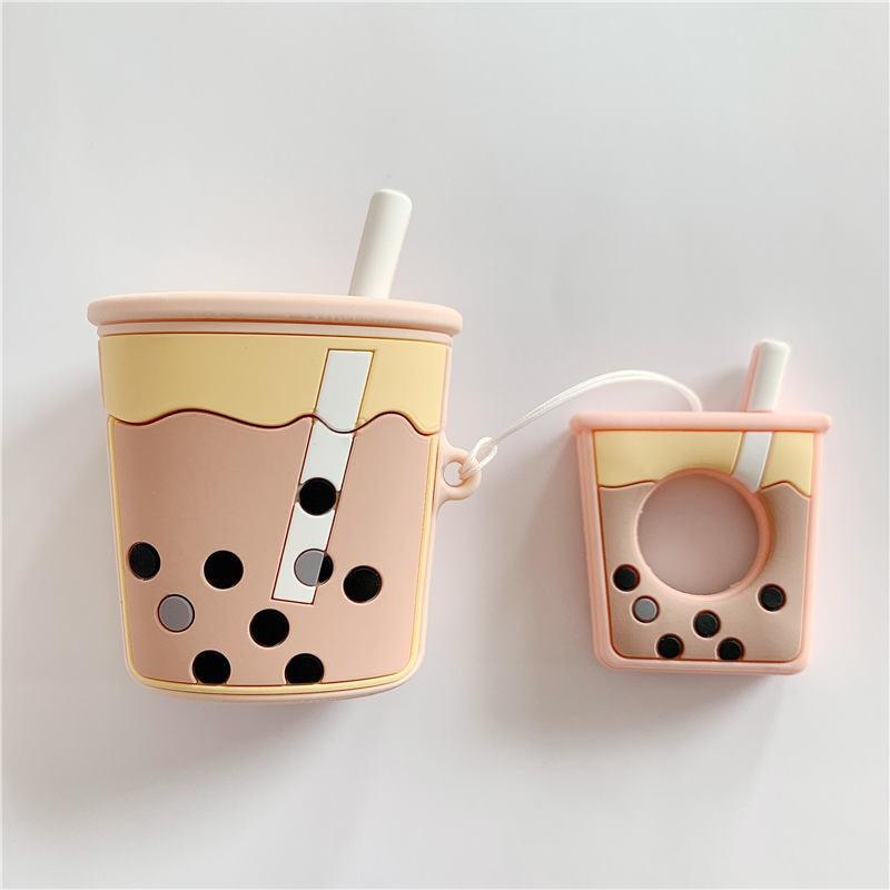 3D Bubble tea airpod case 4