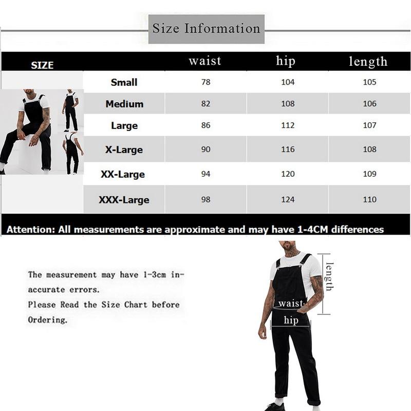 Men Sleeveless Slim Fit Jumpsuit Ripped Jeans  1