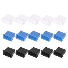 5 Pcs PE USB Typ A Stecker Anti-Staub Stecker Stopper Cap Cover Schutz(China)