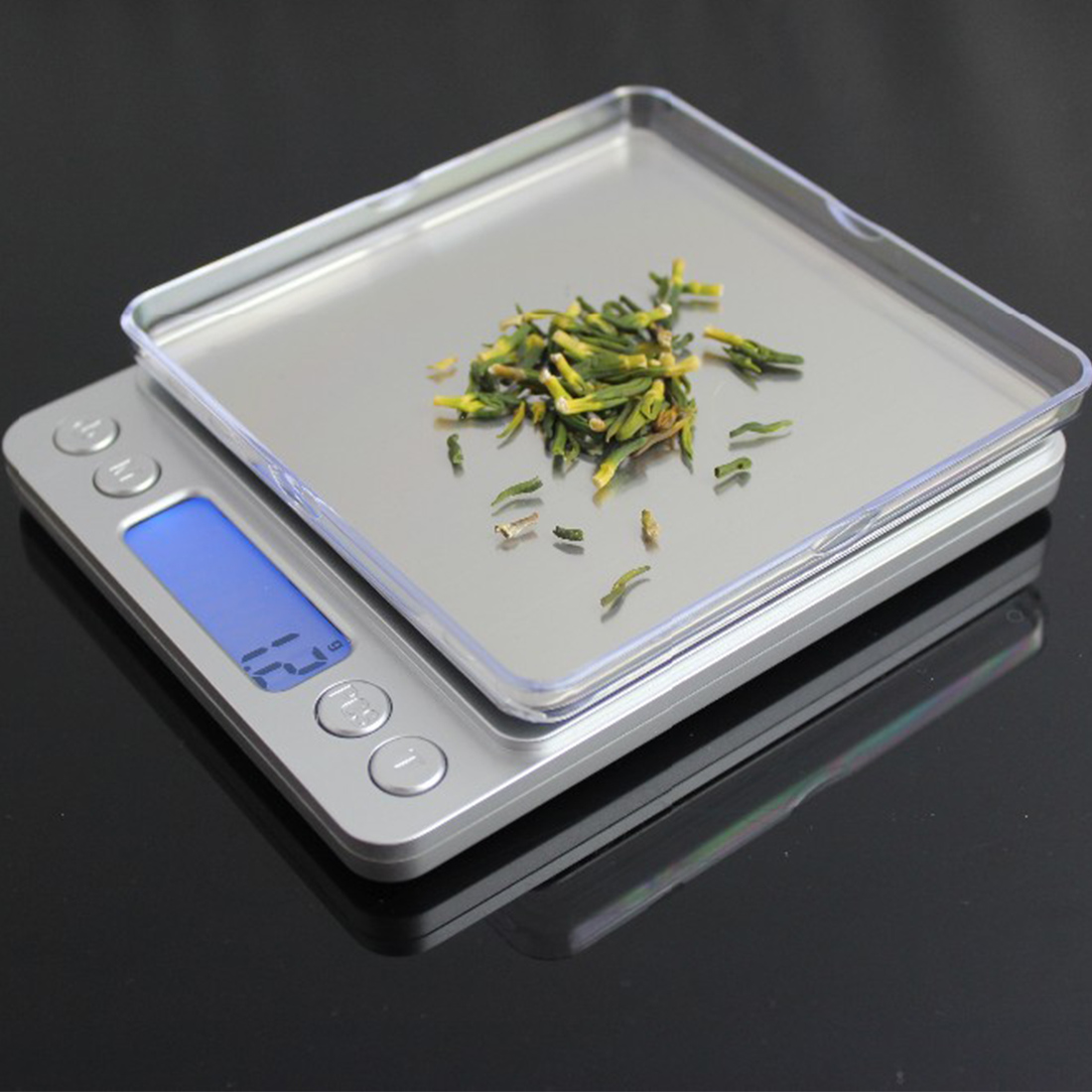 3000gx0.1g Digital Kitchen Scale Mini Pocket Stainless Steel Precision Jewelry Electronic Balance Weight Gold Grams