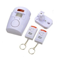 Home Security PIR MP Alert Infrared Sensor Anti Theft Motion Detector Alarm Monitor Wireless Alarm System