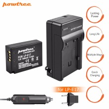 1Pcs 1500mAh LP-E17 LP E17 LPE17 battery+DC Charger+Car Charger For Canon EOS M3 750D 760D T6i T6s 8000D Kiss X8i Camera L15
