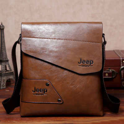 2018 New Men leather famous brand Messenger Bags Bag Fashion Casual Business Shoulder bags for man,Men's Travel Bags NB1805 1
