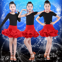 Latin Skirts And Children S Clothes And Dance Clothes Costume Contest Grading Performances Autumn And Winter