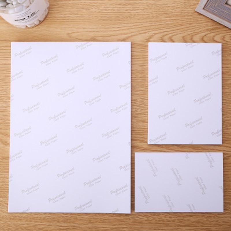 Купить с кэшбэком Waterproof Inkjet paper printing glossy paper 4R  photocards 3 to 8 inch 10 inch A4 waterproof  printing paper supply
