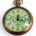 Лондон 1856's античный 5 руки механические карманные часы