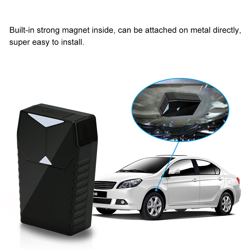 Rechargeable Strong Magnet Car GPS Tracker For Car Pet Person Treasure GPS Locator Google Link Real