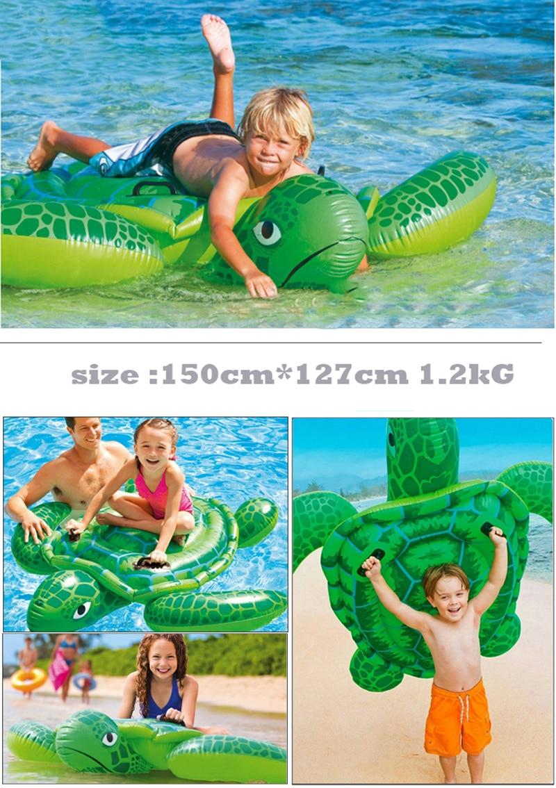 Gyermekek Állati medence úszik felfújható állat úszó gyerekek - Vízi sportok - Fénykép 2