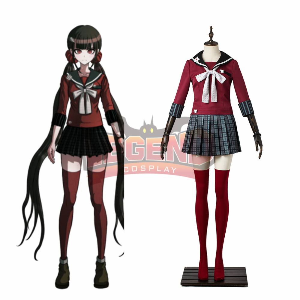 Danganronpa V3: Killing Harmony Harukawa Maki Cosplay adult costume halloween costume custom made