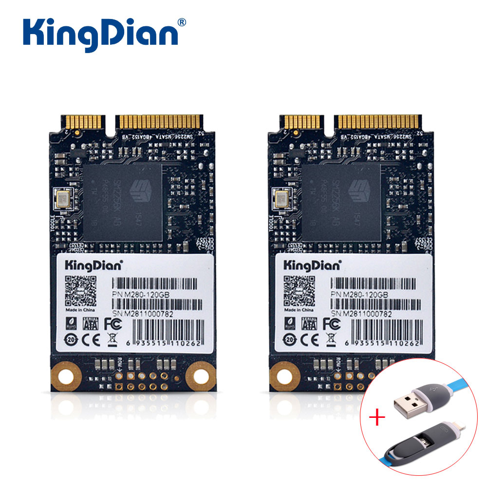 KingDian SSD 120GB M280 3 Years Warranty High Performance Mini Pcie mSATA Hard Drive Disk 120G SSD Factory Directly For Computer hard drive for 4600r 4300r st336705lc 9p6001 302 well tested working 90days warranty page 6