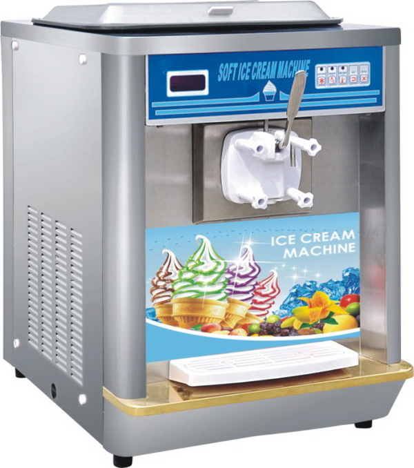Bq116 large capacity 9l table top model soft icecream for 10 table cream