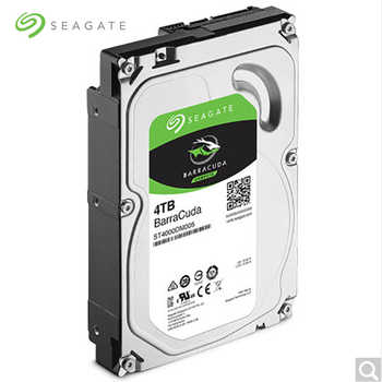 Seagate ST4000DM004 BarraCuda 4TB 3.5 Inch Internal 256MB Cache HDD5400RPM SATA 3.0 6Gb/s Hard Drive Disk for Desktop PC
