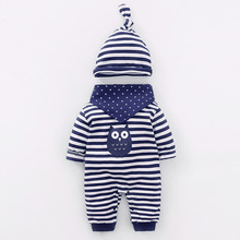 YiErYing Baby Suits Clothes Spring Autumn 3Pcs 100% Cotton L