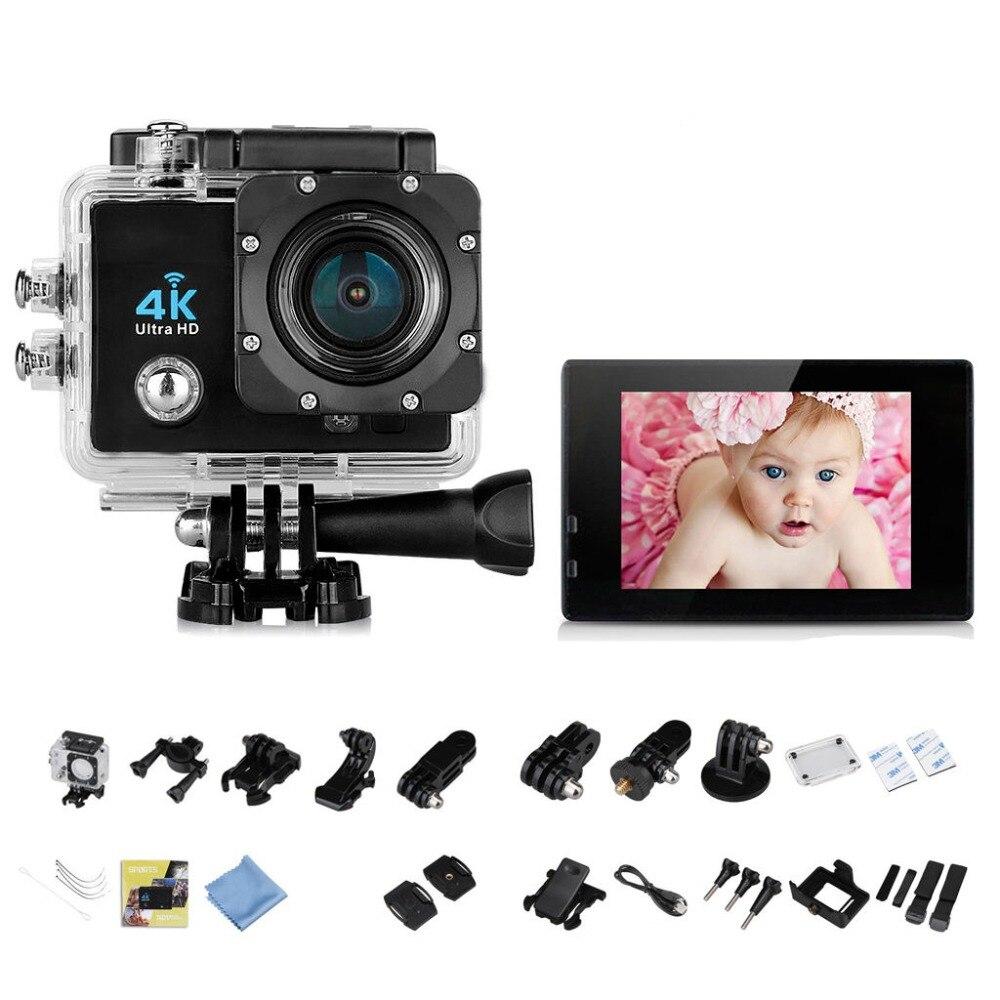 4 K 16MP 170 degrés WiFi 30 M étanche Full HD DV sport caméra 1080 P WIFI sport Action caméra HDMI vidéo DV caméra vélo