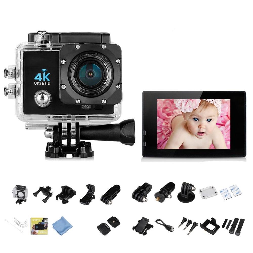 4K 16MP 170 Degree WiFi 30M Waterproof Full HD DV Sports Camera 1080P WIFI Sports Action Camera HDMI Video DV Camera Bike