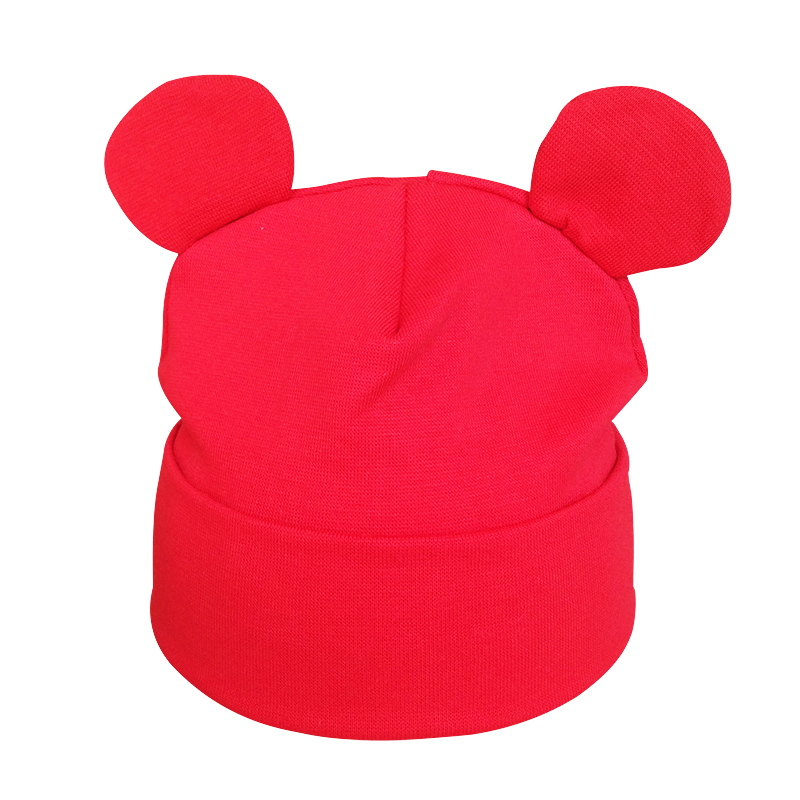 Partisig Brand Baby Hat Bomuld Ør Hat For Girls Fashion Cartoon Boys - Babytøj - Foto 3